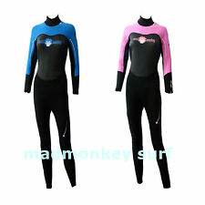 MADMONKEY LADIES WOMENS WETSUIT 3mm HIGH DENSITY NEOPRENE bodyboard kayak dive