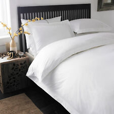 1000 TC WHITE SOLID 100% EGYPTIAN COTTON ALL BEDDING ITEM FOR UK COLLECTION!