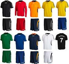 10x Hummel Team Player Trikot - Set inkl. Beflockung Gr. Kinder 03-552 / 04-277