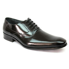 New Men's Black Delli Aldo Shoes Snipe Toe Lace Up Oxfords Leather Lining Modern
