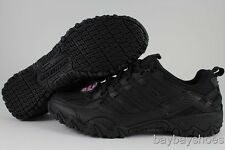 SKECHERS COMPULSIONS CHANT BLACK SLIP RESISTANT NON-SLIP WORK WOMENS SIZES