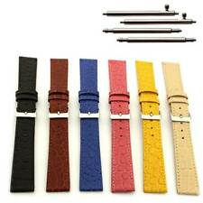 Womens Men Leather Watch Strap Band Croco Arizona 12mm 14mm 16mm 18mm 20mm 22 mm