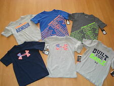 Under Armour Boys Heat Gear Short OR Long Sleeve Loose Shirt  MSRP $19.99-$29.99
