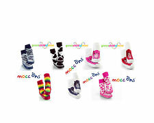 ★MOCC ONS CHILDRENS SLIPPER SOCK SHOES ALL SIZES & STYLES NEW SNEAKER  MOCC ONS