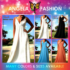 Angela New Evening Summer Maternity Women Long Maxi Dress Size Sz M-9XL 6-28 US