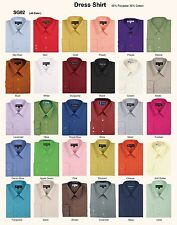 Men's basic dress shirt , 12 + colors by TDC collections Style Sg02