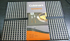 "SET OF 4 CUISINART-INDOOR OR OUTDOOR PLACEMATS- 13"" X 18""- POLYVINYL- JUST IN"