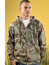 CAMO Outdoors Zip Up Mens Size S-3XL Realtree AP Sport Hooded Sweatshirt Jumper