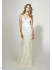 AUTHENTIC Nicole Miller GS0007 Marlena Silk Lace NEW Bridal Gown RETURN POLICY