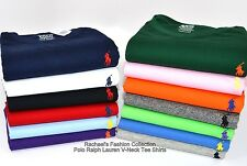 NWT Polo Ralph Lauren Men's Short-Sleeved CLASSIC FIT V-Neck T-Shirt Tee