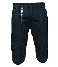 New Soul Star MST Ryde Men's Denim Combat Cargo Casual Fashion Jeans Shorts 1883