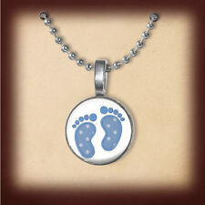 OMG Nickel Pendant FREE! Thank Heaven for Lil' Boys,  Baby Boy, Blue, Miracle