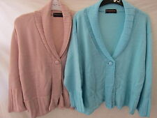LADIES ESSENTIAL CLOTHING COMPANY CARDIGAN WITH 3/4 SLEEVES (2 COLOURS)