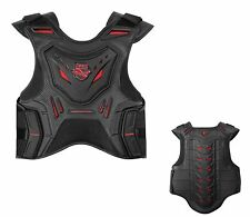 Icon Stryker Stunt Riding Chest & Spine Protection Vest Black / Red ALL SIZES