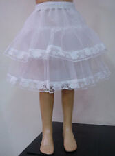Girls wedding dress petticoat  YOLIN size 2-4-6-8-10-12 year Whites