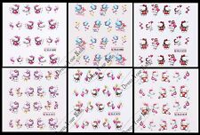Nail Stickers Hello Kitty-Art/Decal/3d Cartoon Little Kitty Childrens Nail - UK