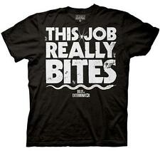 Billy The Exterminator This Job Really Bites New Licensed Adult T-Shirt