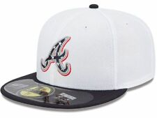 Official MLB 2013 July 4th Atlanta Braves New Era 59FIFTY Fitted Hat