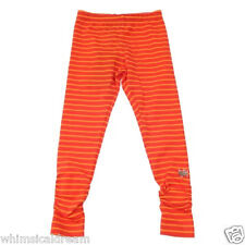 Catimini girls red & orange stripe leggings pants Sz 10 12 & 14 years NWT