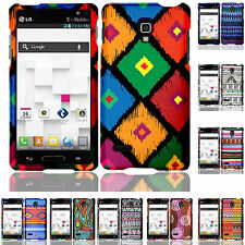 For LG Optimus L9 / Optimus 4G Rubberized Snap Hard Phone Case Cover Accessory