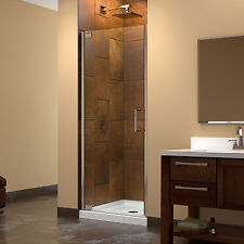 DreamLine Elegance 27 to 29-inch Frameless Pivot Shower Door