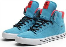 SUPRA VAIDER BLUE WHITE SKATE SHOES