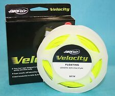 Airflo Velocity Floating Fly Line Optic Green (DT) - 5 Sizes To Choose From