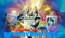 Yugioh Cards - Batteryman Deck Building Playsets - Choose Your Own