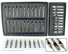 Stainless Steel Tip Set for Tattoo Needle Machine Grip Supply (3 Set Available)