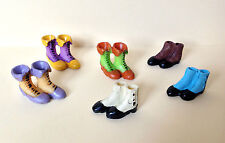 Dolls House Miniature Victorian/Edwardian Ladies Boots ~ 1:12 ~ UK POST £1.00!