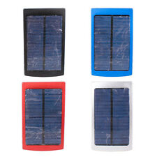 Dual Power 10000mAh Solar Panel Battery Charger Power Bank for iPhone Tablet MP3