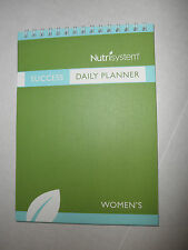 NEW Nutrisystem Meal Plan SUCCESS Guide Daily Planner: Men or Women