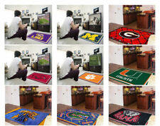 Choose Your NCAA College A-M Team 4' x 6' Decorative Plush Area Rug Floor Mat