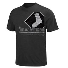 "Chicago White Sox Majestic ""The Submariner"" Charcoal Heathered T-Shirt"