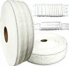 Curtain Heading Header Tape Pencil Pleat 2 inch & 3 Inch Various Lengths