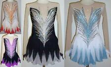 Figure Ice Skating Dress/Baton Twirling Majorettes/Tap Costume/dance Made to Fit