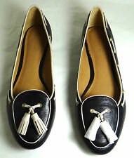 COACH MALIKA SOFT LEATHER FLAT SHOES 5-11