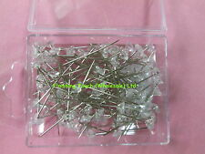 100 DIAMANTE PINS CLEAR  1.5INCH. OTHER COLOURS..BUTTONHOLES ..BOUQUETS