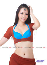 Hot 25 colors sheer micro mesh Blouse and Top with Tribal Pants full set