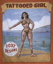 Vintage Freak Show Poster Tattooed Girl Poster A3/A2 Print