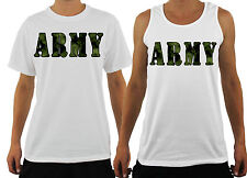 MENS ARMY T-SHIRT PRINTED CAMO 100% COTTON TEE T SHIRT CAMOUFLAGE SOLDIER S-XXXL