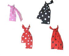 Ladies Girls Polka Dot 50's Grease Style Neck Tie Head Scarf