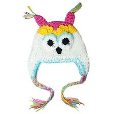HOT SELL Fashion Cute Baby Boy Girl Toddler Owls Knit Crochet Hat Beanie Caps