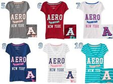 Aeropostale  Vertical Aero 87 Graphic T-Shirt for Girls/Women NWT!