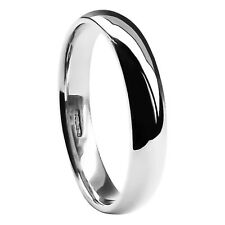 5mm 950 UK Hallmarked 7.4-9.6g 950 Platinum Court Comfort Wedding Band Ring I-Z1