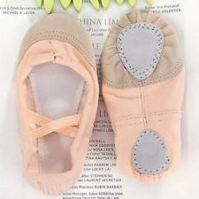 Fashion Incarnadine Canvas Ballet Dance Fitness Shoes Toddler Girl Child Size US