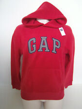 GAP Men's Red Fleece Logo Hoodie Pullover Size XS NWT