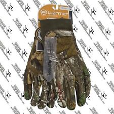 MANZELLA MENS FORESTER ST TOUCHTIP REALTREE CAMO ALL PURPOSE HUNTING GLOVE M-XL