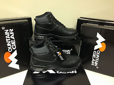 Mountain Gear Mens Epic Hiking Boots #310035-A48 Black Mono Chrome Only $39.99!
