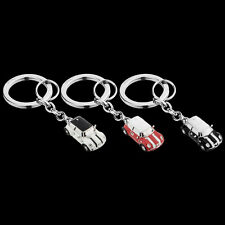 MINI Cooper Car Key Ring White, Red or Black Hardtop Coupe Key Chain Keychain